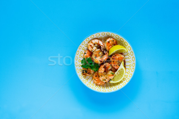 Grilled Prawn Shrimp Stock photo © YuliyaGontar