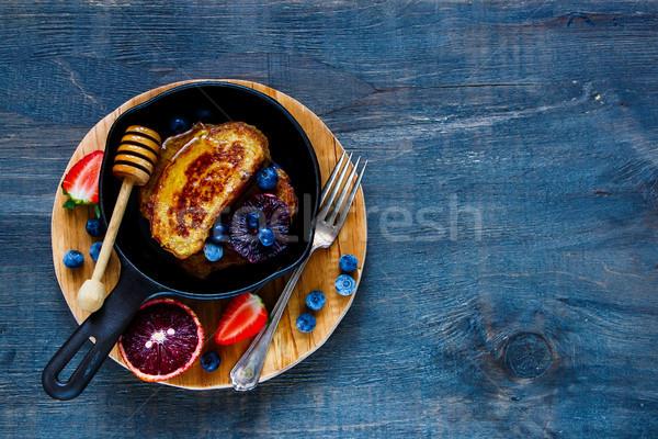 Stock photo: Cinnamon French Toasts