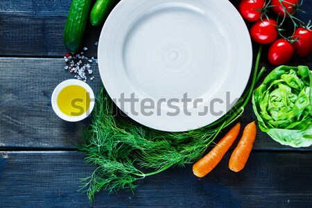 Various colorful spices and vegetables  Stock photo © YuliyaGontar