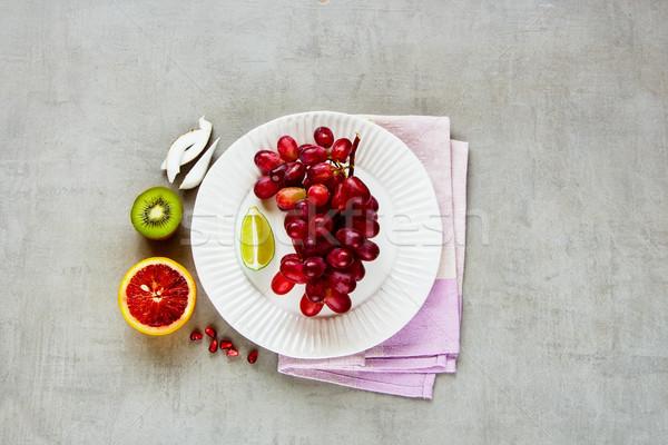 Kleurrijk organisch vruchten bio licht top Stockfoto © YuliyaGontar