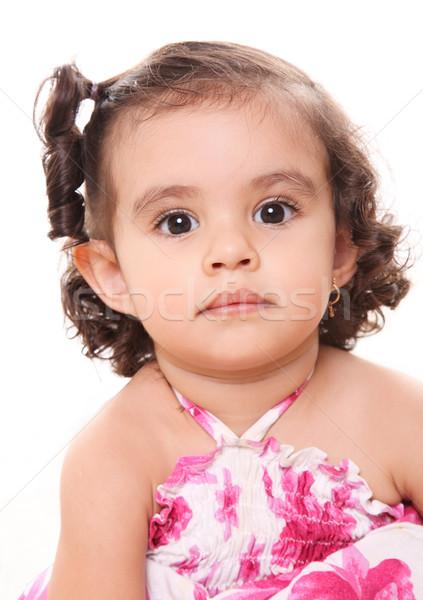 Baby face Stock photo © yupiramos