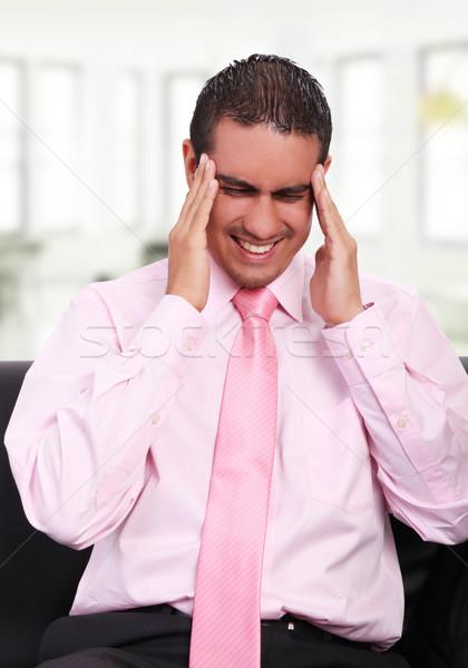 Headache Stock photo © yupiramos