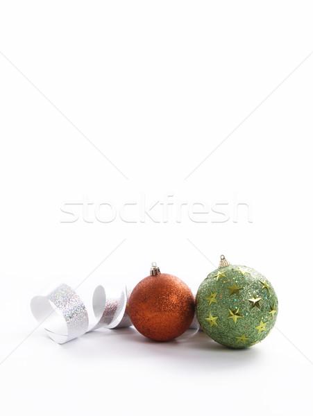 Chritsmas balls  Stock photo © yupiramos