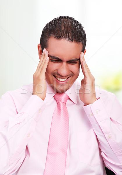 Headache,  Stock photo © yupiramos