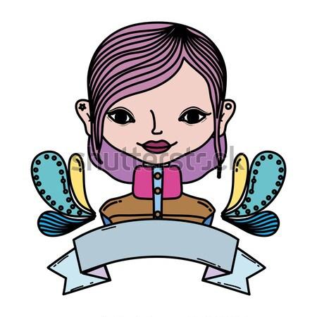 child girl Stock photo © yupiramos