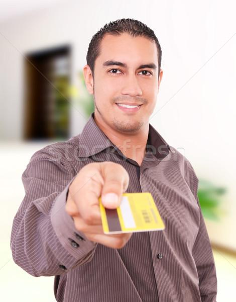 Man buying Stock photo © yupiramos