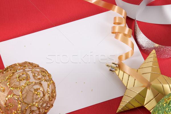 Christmas Card Stock photo © yupiramos