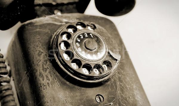 Old phone Stock photo © yupiramos