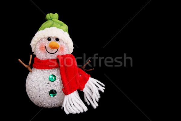 Snowman Stock photo © yupiramos