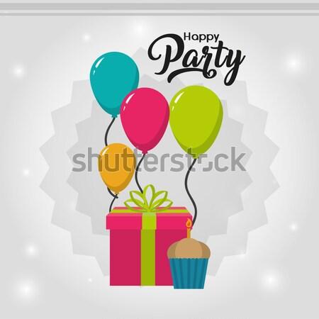 happy birthday  Stock photo © yupiramos