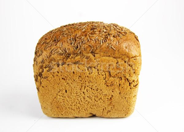 Foto stock: Pão · canela · branco · comida · trigo · alimentação