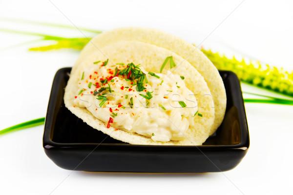 Adag rizs mártás fűszer fehér élet Stock fotó © yura_fx