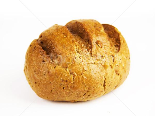 Kicsi cipó kenyér fehér étel búza Stock fotó © yura_fx