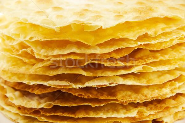 Rétegek torta makró Stock fotó © yura_fx