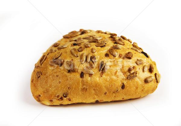 Friss kenyér napraforgó magok étel búza Stock fotó © yura_fx