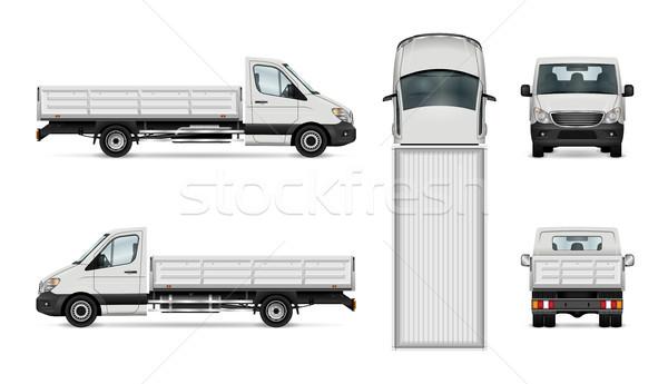 Truck vector illustration Stock photo © YuriSchmidt