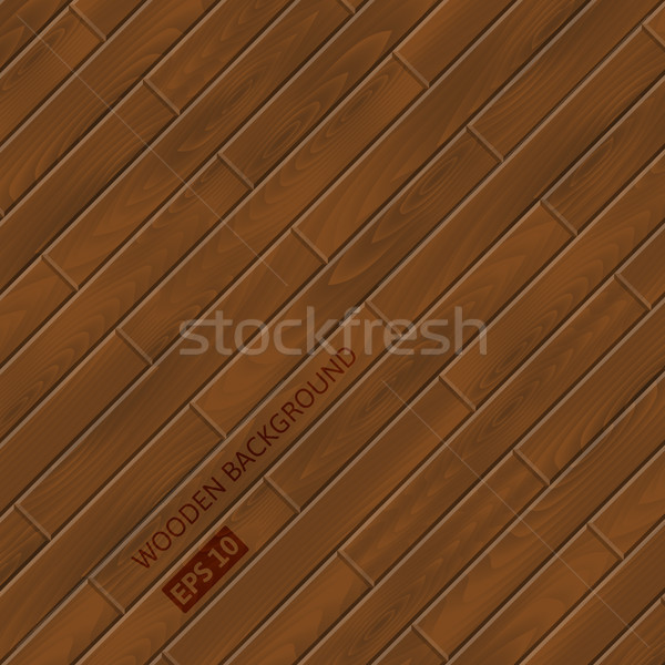 Wood texture. Vector wooden background. Stock photo © YuriSchmidt