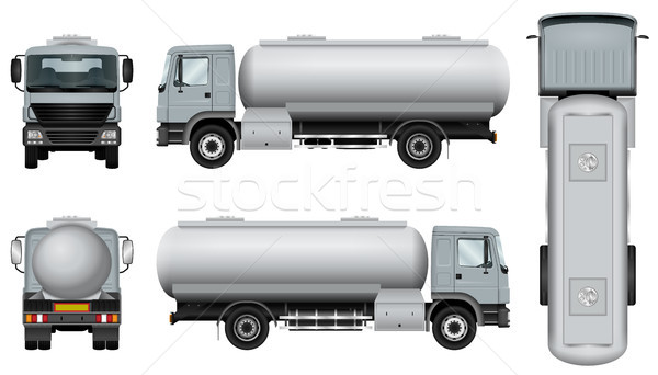 Tanker car template Stock photo © YuriSchmidt