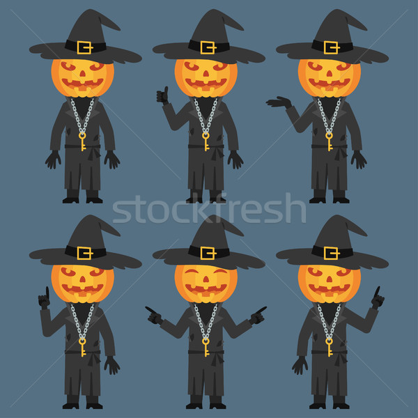 Pumpkin Shows and Indicates Stock photo © yuriytsirkunov