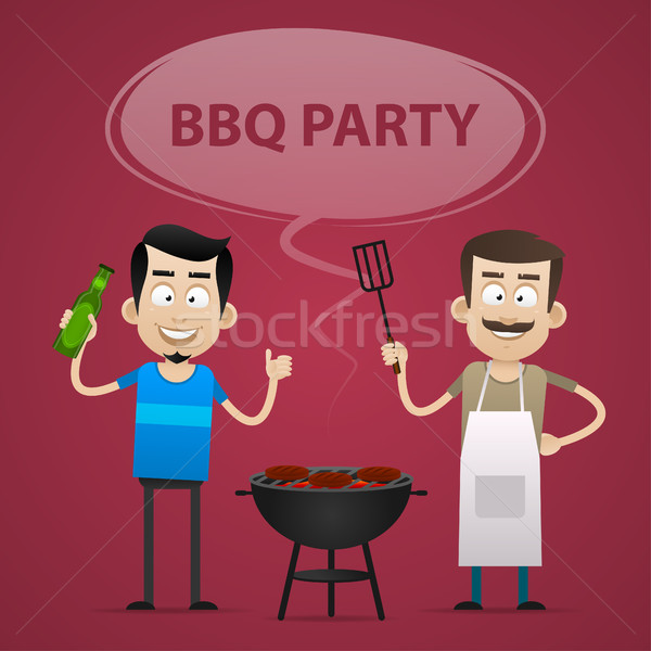 BBQ Party concept Stock photo © yuriytsirkunov