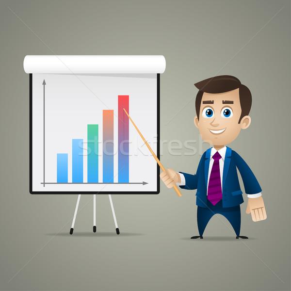 ビジネスマン 点数 メモ帳 実例 フォーマット eps ストックフォト © yuriytsirkunov