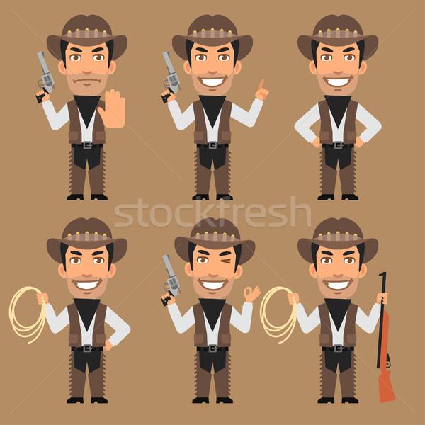 грабитель Cowboy веревку формат прибыль на акцию Сток-фото © yuriytsirkunov