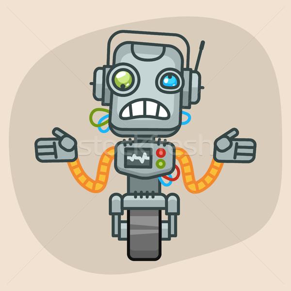 Robot Does Not Know What to Do Stock photo © yuriytsirkunov