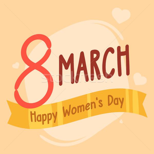 Concept International Womens Day Stock photo © yuriytsirkunov