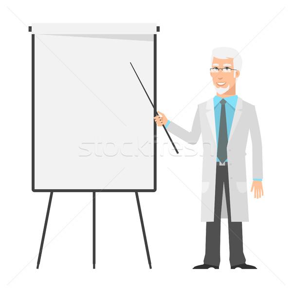 ストックフォト: 高齢者 · 科学 · 点数 · グラフ · 実例 · フォーマット