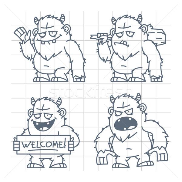 Bom rabisco ilustração formato eps 10 Foto stock © yuriytsirkunov