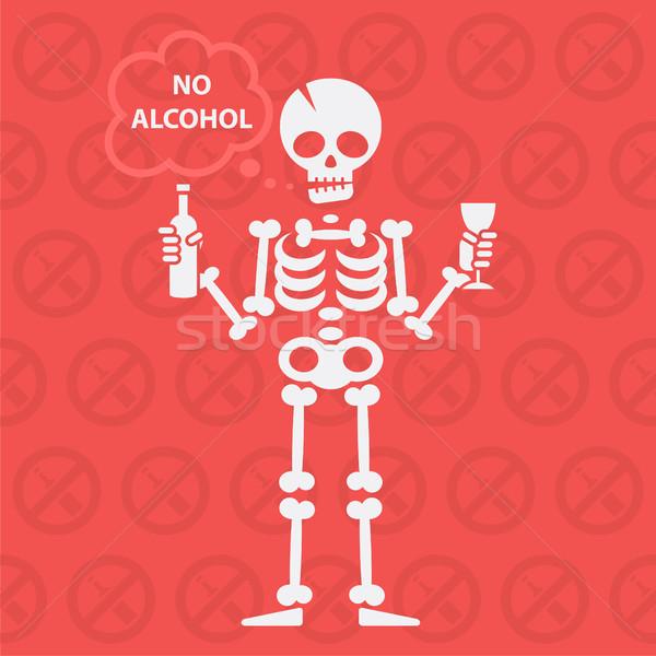 Alkol format eps 10 dizayn Stok fotoğraf © yuriytsirkunov