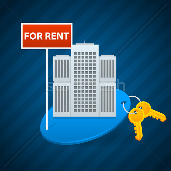 Concept rent of city apartments Stock photo © yuriytsirkunov