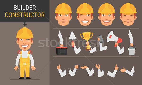 Constructor Character Builder Stock photo © yuriytsirkunov