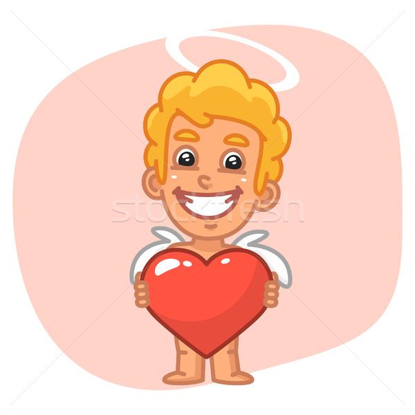 Sorrisi cuore simbolo formato eps Foto d'archivio © yuriytsirkunov