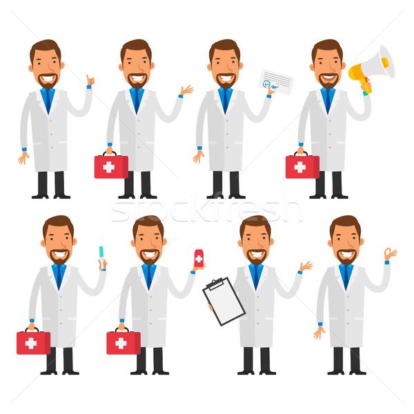 Photo stock: Dentiste · format · eps · 10 · médecin