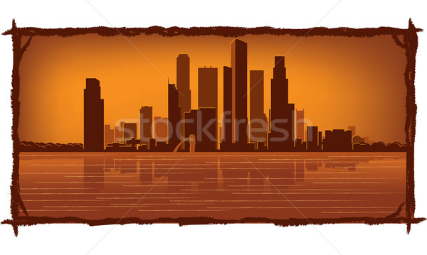 Singapore skyline  Stock photo © Yurkaimmortal