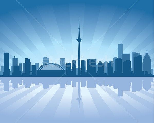 Toronto skyline Stock photo © Yurkaimmortal
