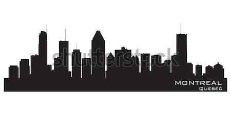 Канзас город Миссури Skyline подробный вектора Сток-фото © Yurkaimmortal