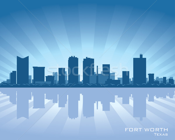 Stock photo: Fort Worth skyline