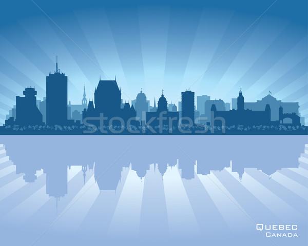 Quebec, Canada skyline Stock photo © Yurkaimmortal