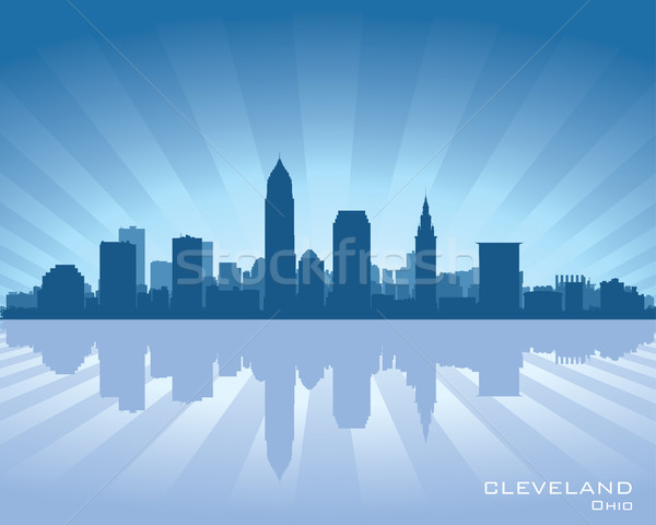 Cleveland, Ohio skyline Stock photo © Yurkaimmortal