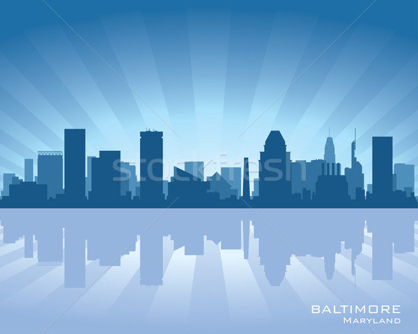 Baltimore skyline Stock photo © Yurkaimmortal
