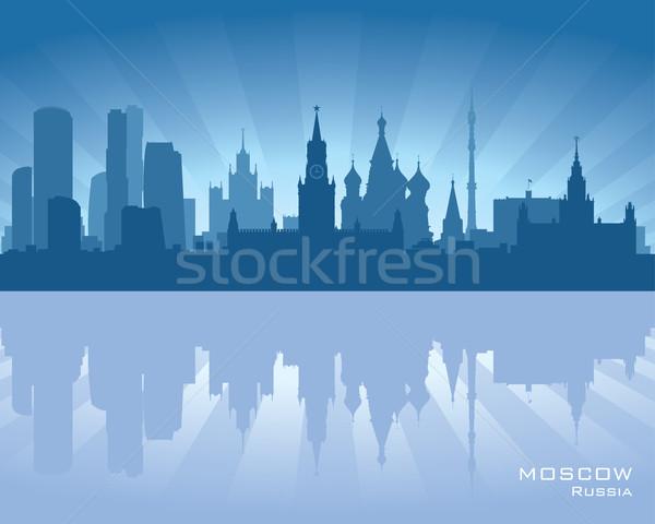 Moscow, Russia skyline Stock photo © Yurkaimmortal