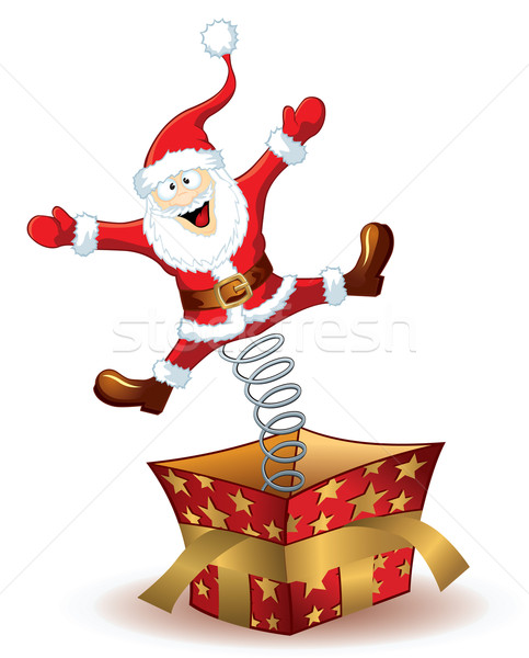 Christmas Santa Claus Stock photo © Yurkaimmortal