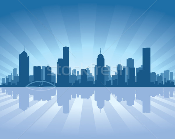 Melbourne skyline  Stock photo © Yurkaimmortal