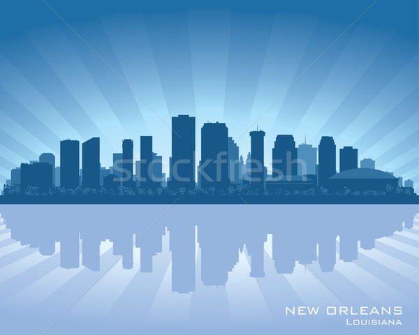 New Orleans, Louisiana skyline Stock photo © Yurkaimmortal