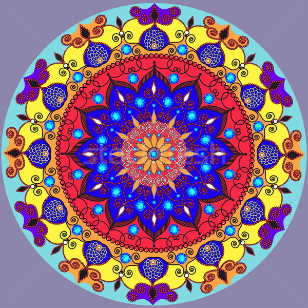 Mandala decoración aislado estilo decoración Foto stock © yurkina