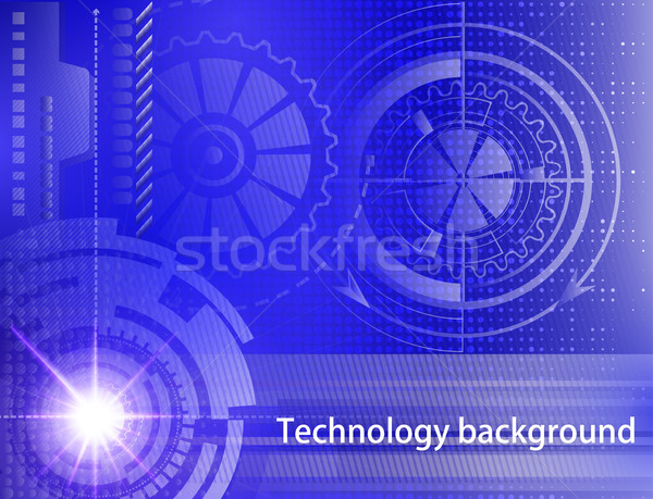 Abstract technology background. Concept of industrial design. Be Stock photo © yurkina