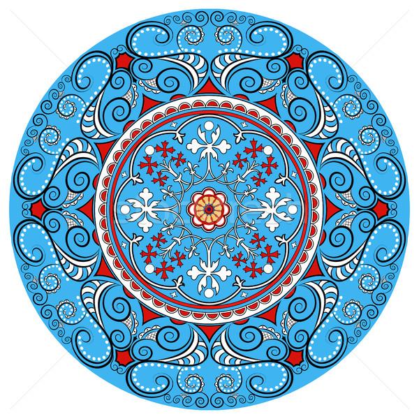Mandala dekorasyon yalıtılmış stil Stok fotoğraf © yurkina