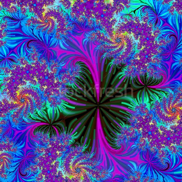 Colorido fractal naturalismo fenómeno matemático conjunto Foto stock © yurkina